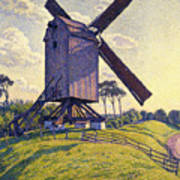 Windmill In Flanders Poster