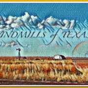 Windmills Of Texas Poster
