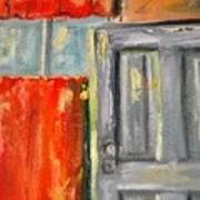 Window And The Pantry Door Poster