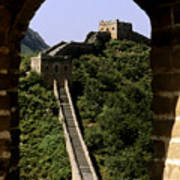 Window Great Wall Poster