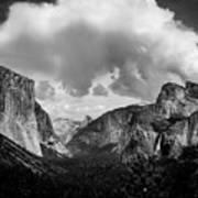 Window Into Yosemite Poster