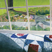 Window On Spring Poster