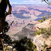Window To The Past 1 - Grand Canyon Poster
