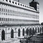 Windows Of El Escorial Spain Poster