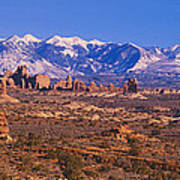 Windows Section, Arches National Park Poster