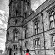 Windsor Castle Coldstream Guard Poster