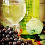 Wine Poster by Darren Fisher
