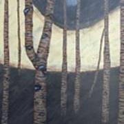 Winged Landscape Poster