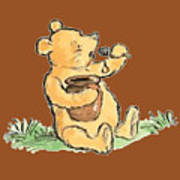 Winnie The Pooh T-shirt Poster
