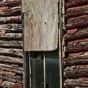 Winslow Cabin Window Poster