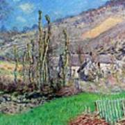 Winter At The Val De Falaise Poster
