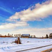 Winter Barn 3 Poster
