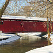 Winter Bridge  Poster