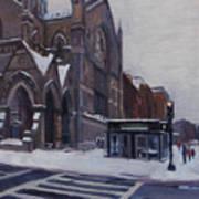 Winter In Boston Poster