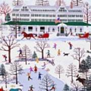 Winter In Jackson New Hampshire Poster
