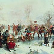 Winter In Saint James's Park Poster