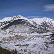 Winter In Silverton Colorado Poster