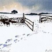 Winter In Stainland Poster