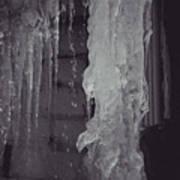 Winter Memories-ice Poster