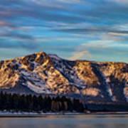 Winter Morning South Lake Tahoe Poster