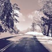 Winter Roads Poster