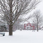 Winter Scene Poster