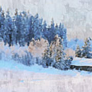 Winter Scenery Poster