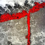 Winter Sidewalk 4 Poster