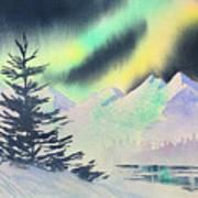 Winter Skylights Poster