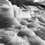 Winter Texture Poster