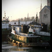Winter Tugs Poster