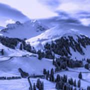 Winter Vista Poster