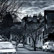 Winter Yew Street Poster