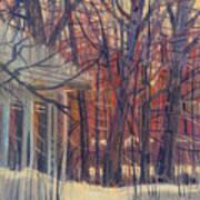 Winter's Snow Poster