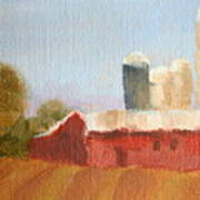 Wisconsin Farmland Poster