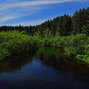 Wisconsin River In Vilas County Poster