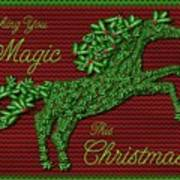 Wishing You Magic This Christmas Poster