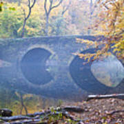 Wissahickon Creek At Bells Mill Rd. Poster by Bill Cannon