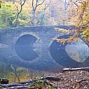 Wissahickon Creek At Bells Mill Rd. Poster
