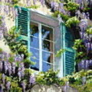 Wisteria In Provence Poster