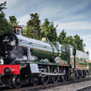 Witherslack Hall 4-6-0  Poster