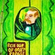Wizard Of Oz Gate Keeper  Poster