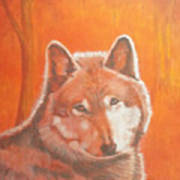 Wolf Home Burning Poster