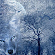Wolf Poster by Svetlana Sewell