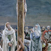 Woman Behold Thy Son Poster by Tissot