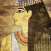 Woman Of Ancient Egypt Poster