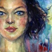 Woman  Portrait 2 Poster
