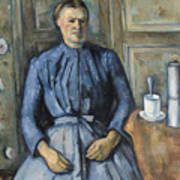Woman With A Coffeepot  Poster