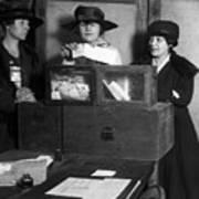 Women Voting, C1917 Poster