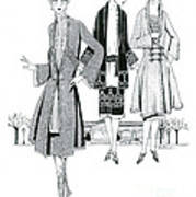 Womens Fashion, 1926 Poster